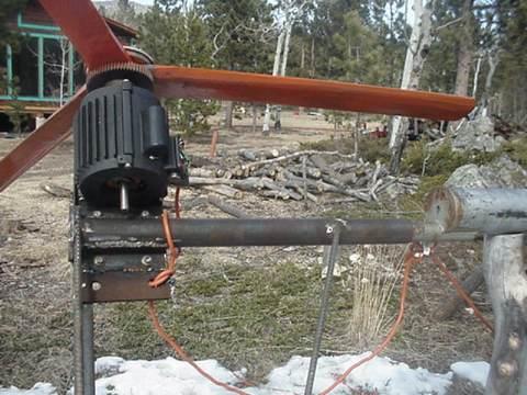 Для генераторов ветряка нужна