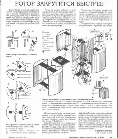 Мощность ветрогенератора своими руками
