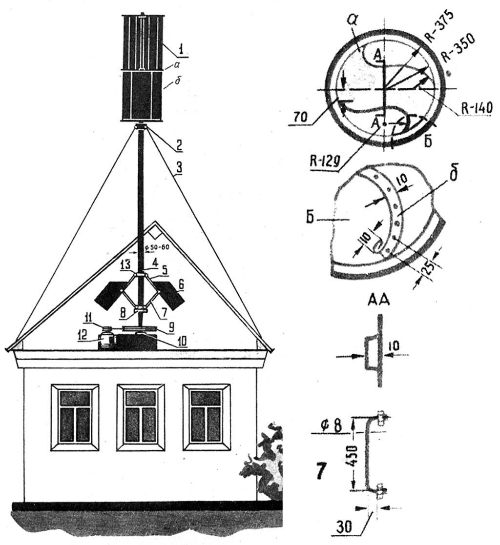 Асинхронный ветрогенератор своими руками фото 198