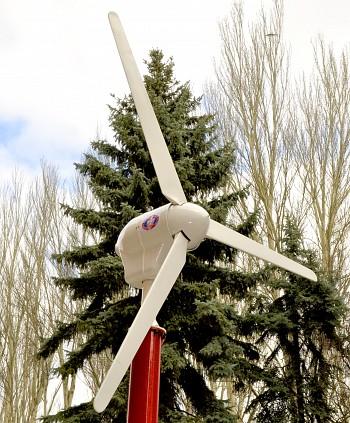 107Своими руками ветроэлектростанцию